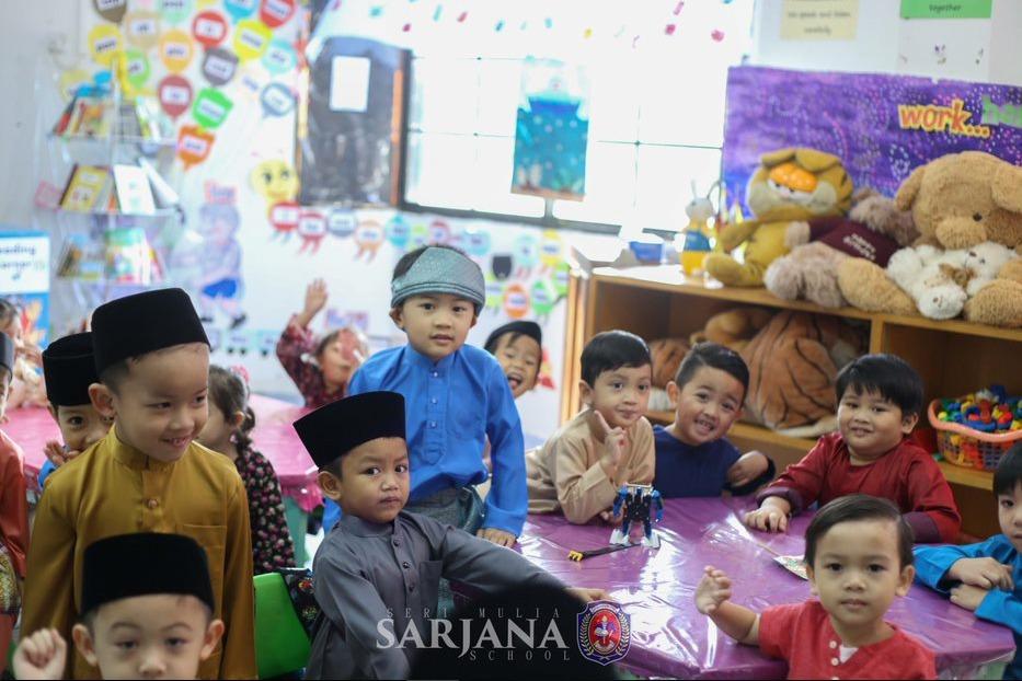 Double Celebration Sets a Festive Mood At Preschool Sarjana