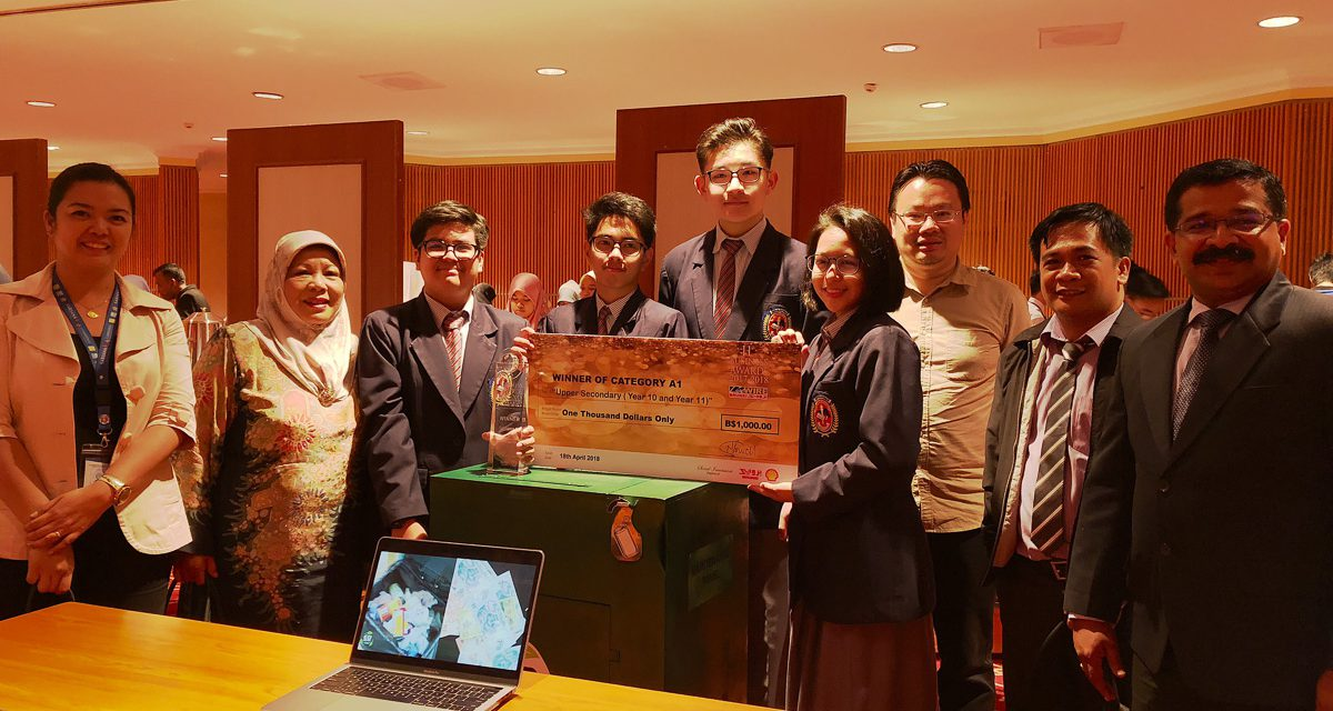 Seri Mulia Sarjana School Students win the LiveWIRE Business Awards Upper Secondary Category