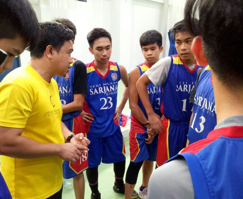 Sarjanians Basketball U-15 Championship Glory