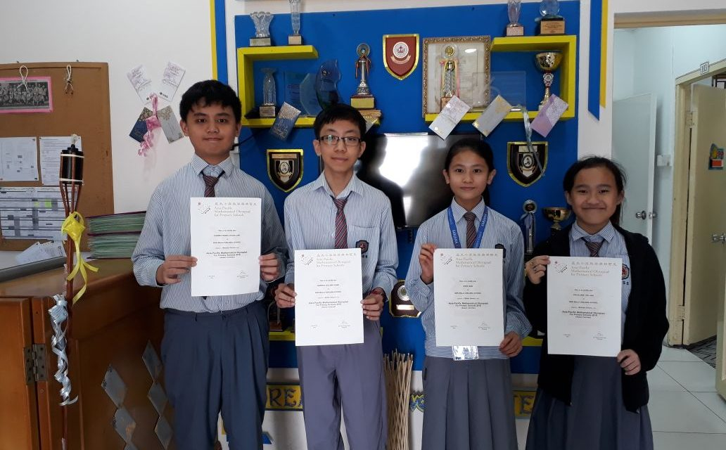 SMSS obtains Silver and Bronze in APMOPS