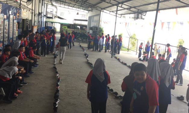 SMSS WELCOMES YEAR 7 STUDENTS IN ICEBREAKING ACTIVITIES