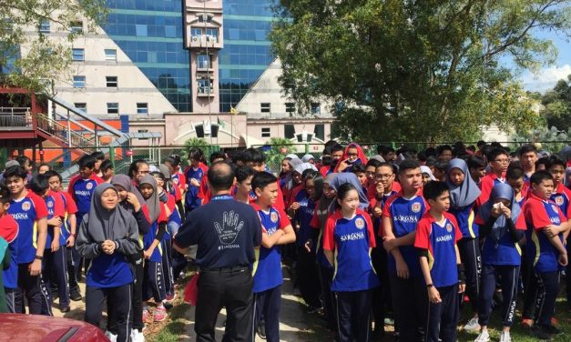 SMSS ORGANISES FIRE DRILL FOR SAFETY