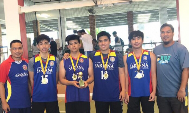 SMSS U16 BASKETBALL TEAM BRINGS HOME CHAMPIONSHIP