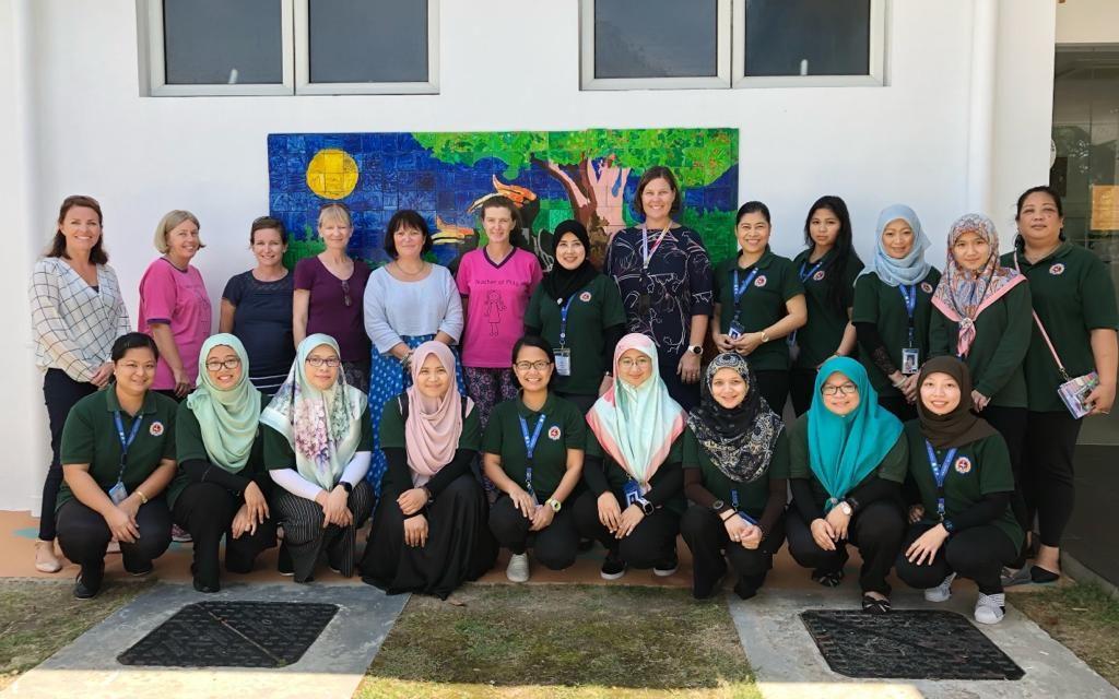 Preschool Teachers Gear Up for IEYC Accreditation
