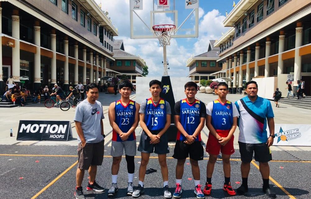 SARJANA LIONS TAKE HOME SECOND PLACE IN STREET BASKETBALL