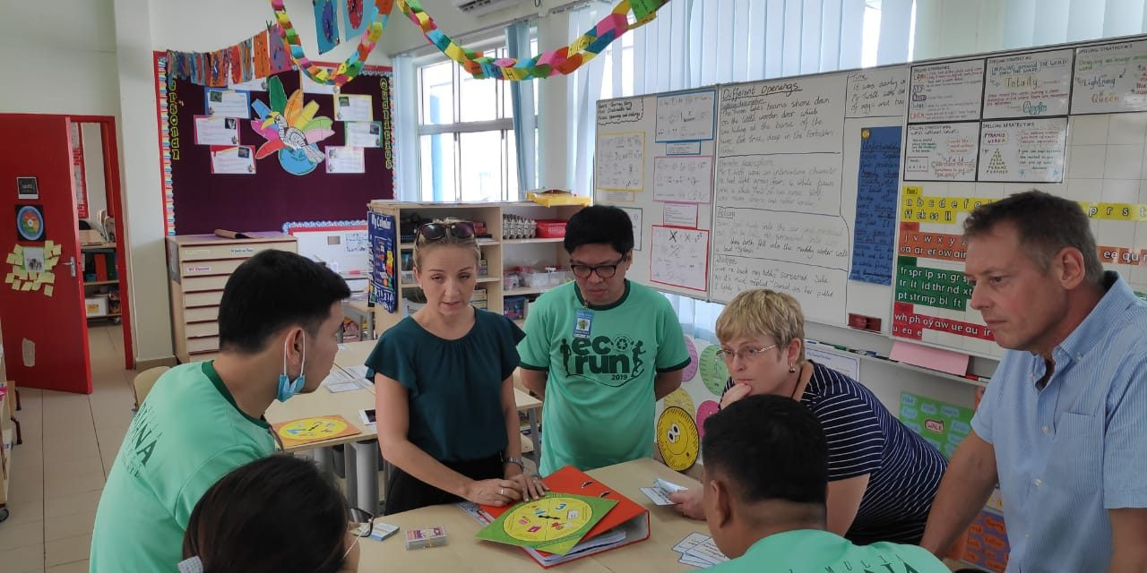 English Teachers Embark on Literacy Session