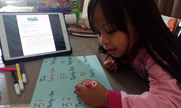 Home-Based Learning Begins for Preschool